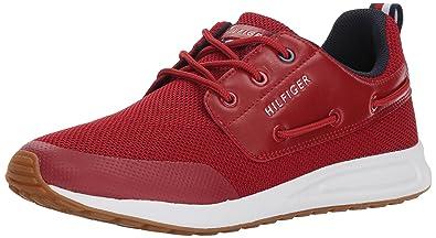 Tommy Hilfiger Men's LANCASTER2 UK Sneaker, ROT Multi Ll, 11.5 UK LANCASTER2 ... bf9267