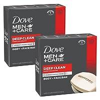 20-Ct Dove Men+Care Deep Clean Body and Face Bar 4-Oz