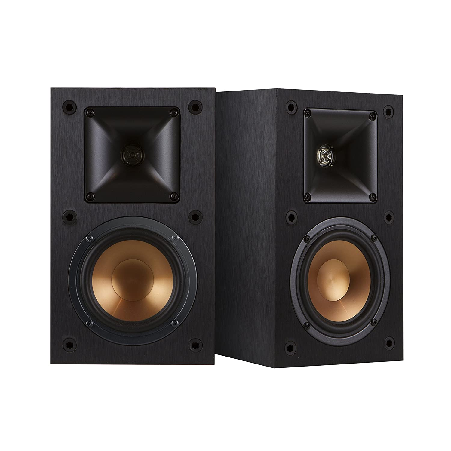 klipsch powered speakers. klipsch r-14m 4-inch reference bookshelf speakers (pair, black) powered k