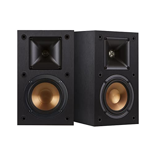 Klipsch R-14M 4-Inch Reference Bookshelf Speakers