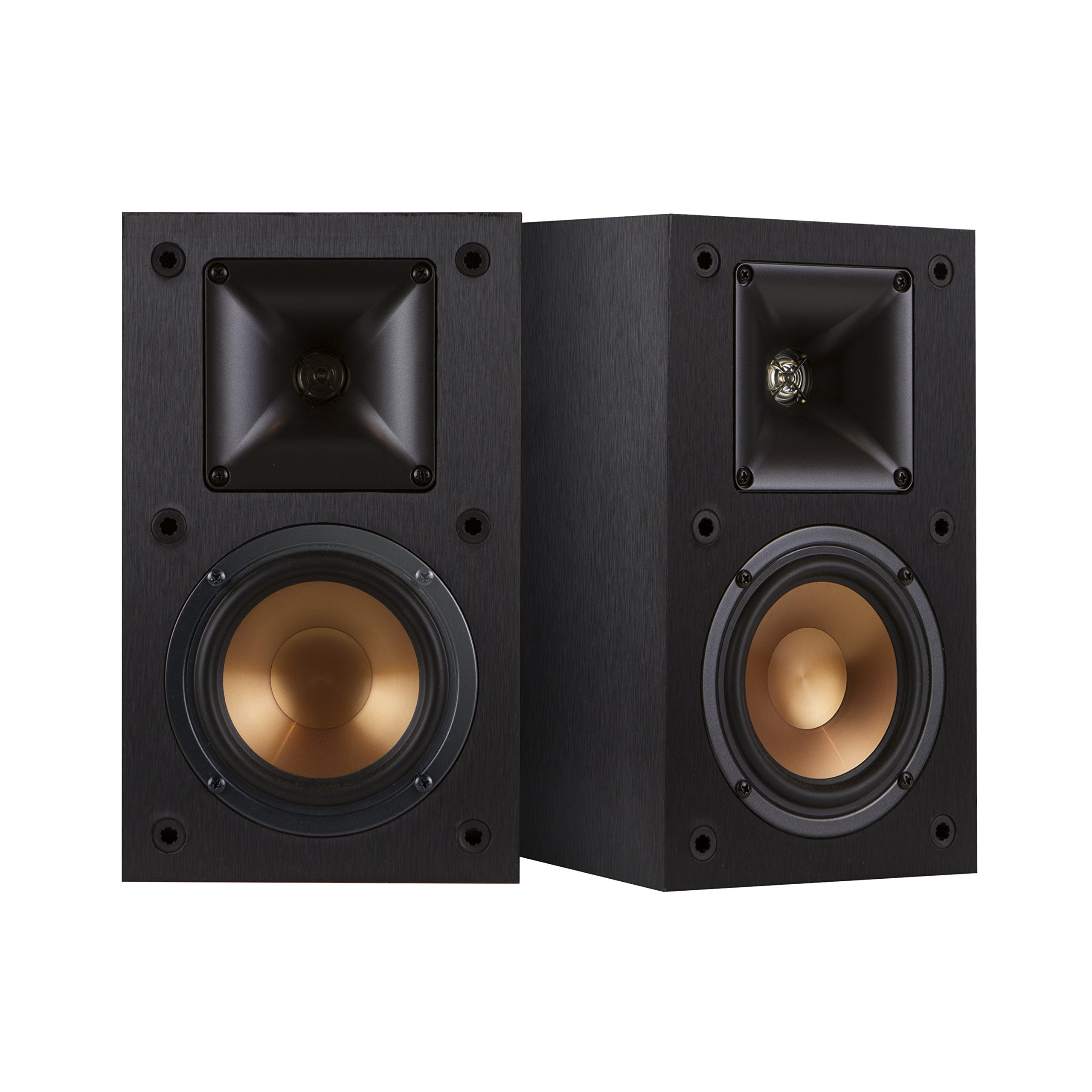 Klipsch R-14M 4-Inch Reference Bookshelf Speakers (Pair, Black)