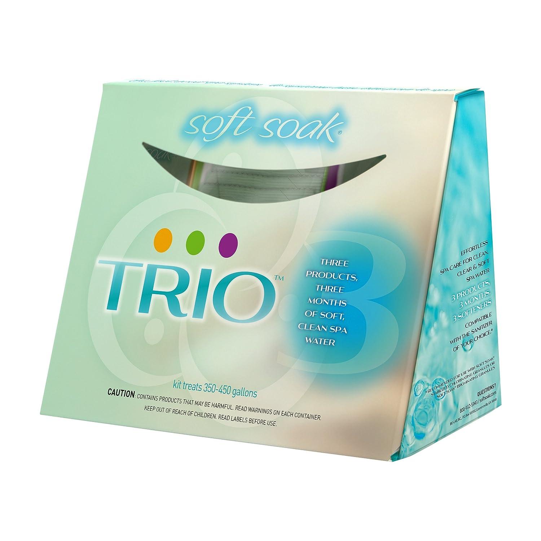 Amazon.com : Soft Soak Trio Spa Care System by BioLab (3 Month ...