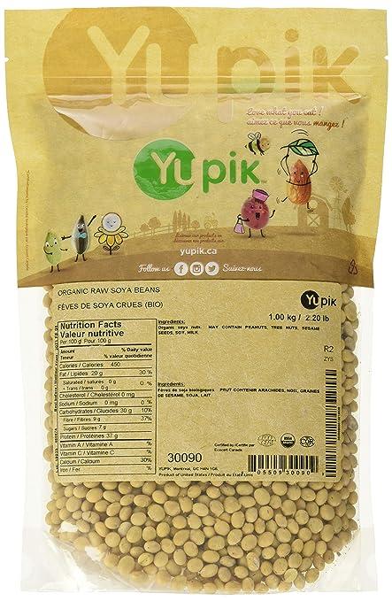 Yupik Organic Soya Beans, 1Kg