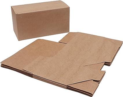 Cajas de regalo (Pack de 20) - (23x11,5x11,5cm) Kraft Papel Cajas ...