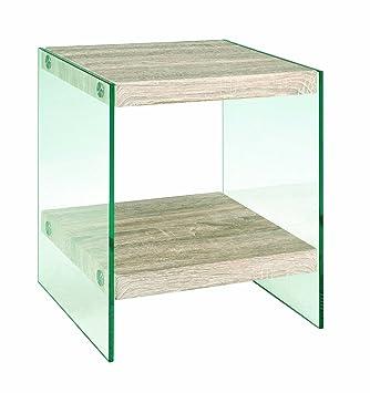 Möbel & Wohnen Glasablage 50 Cm Hell In Farbe