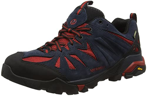 Merrell Capra Gore-Tex, Zapatos de Low Rise Senderismo para Hombre, Azul (Navynavy), 43 EU: Amazon.es: Zapatos y complementos