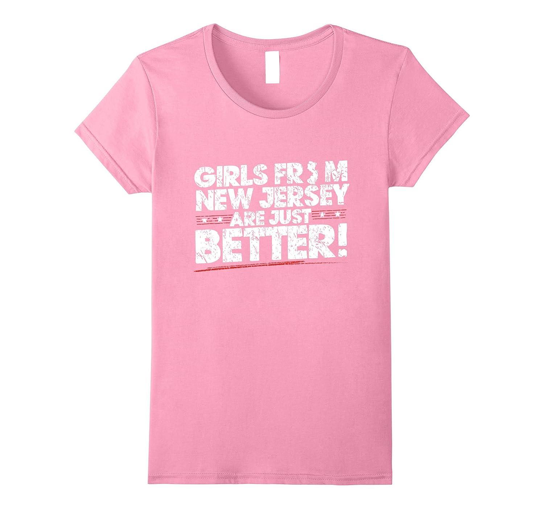 New Jersey distressed T Shirt Heather-Tovacu