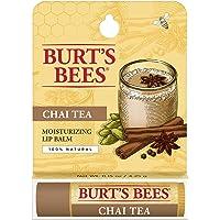 Burt's Bees Lip Balm, Chai Tea, 1 Tube, 4.25g