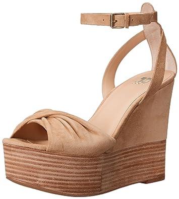 Joe's Jeans Women's Vassar Wedge Sandal, Latte, ...