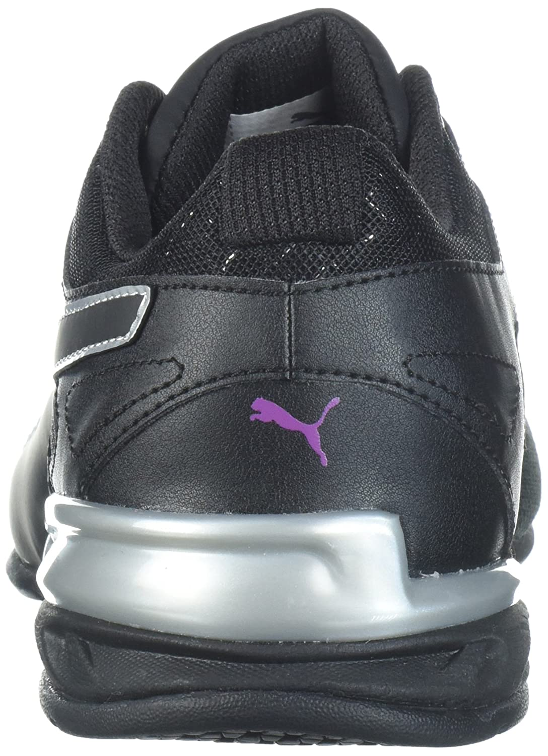 PUMA Women's Tazon 6 Metallic Wn Sneaker B071GNPQST 6.5 B(M) US|Puma Black-grape Kiss