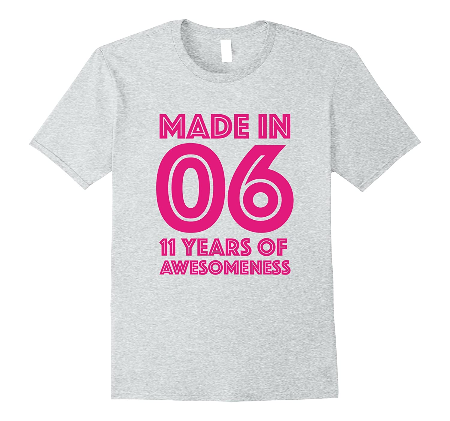 11th Birthday Shirt Gift Age 11 Year Old Girls Tshirt Tee FL