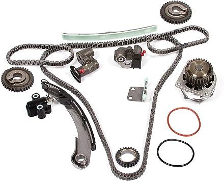 MOCA Engine Timing Chain Set For 2004-2008 Nissan Maxima /& 04-09 Nissan Quest /& 04-06 Nissan Altima 3.5L V6 DOHC 24 Valve VQ35DE Code