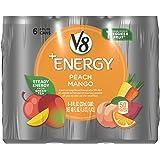V8 +Energy, Juice Drink with Green Tea, Peach Mango, 8 oz. Can