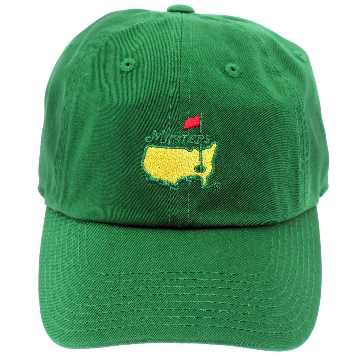 Amazon.com  The Masters Golf Tournament Green Caddy Hat  Sports Collectibles 04e49180e2e