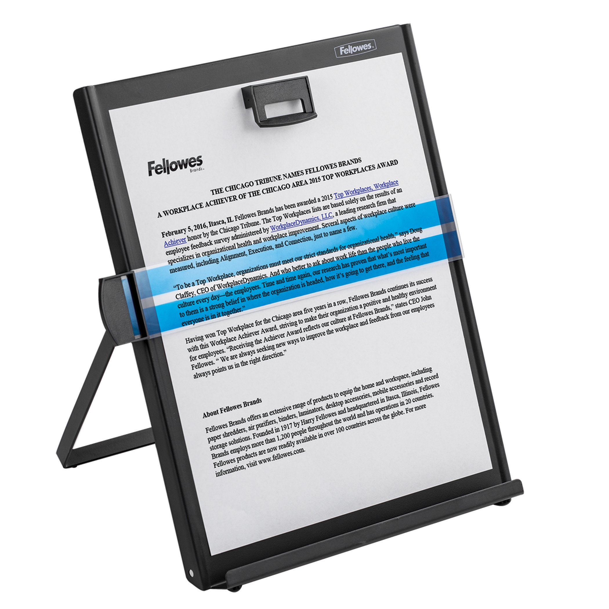 Fellowes Kopy-Aid Black Letter Copyholder (11053) by Fellowes (Image #3)