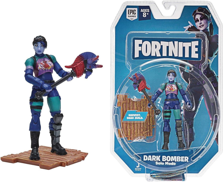 Toy Partner Figura FORTNITE Dark Bomber 10 CM. Serie 2 Incluye 1 Accesorio, EN Blister, Multicolor (FNT0072)