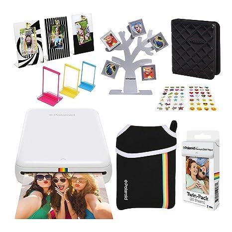 Polaroid Zip Impresora de Fotos Inalámbrica (Blanco) Último ...