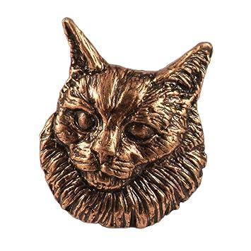 Cobre~~~del imán del refrigerador de gato Angora CC004M: Amazon.es: Hogar