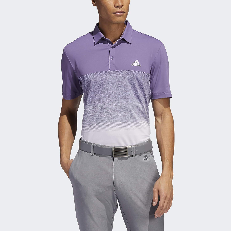 Max 67% OFF adidas Men's Ultimate365 Fade Shirt Stripe OFFicial shop Polo