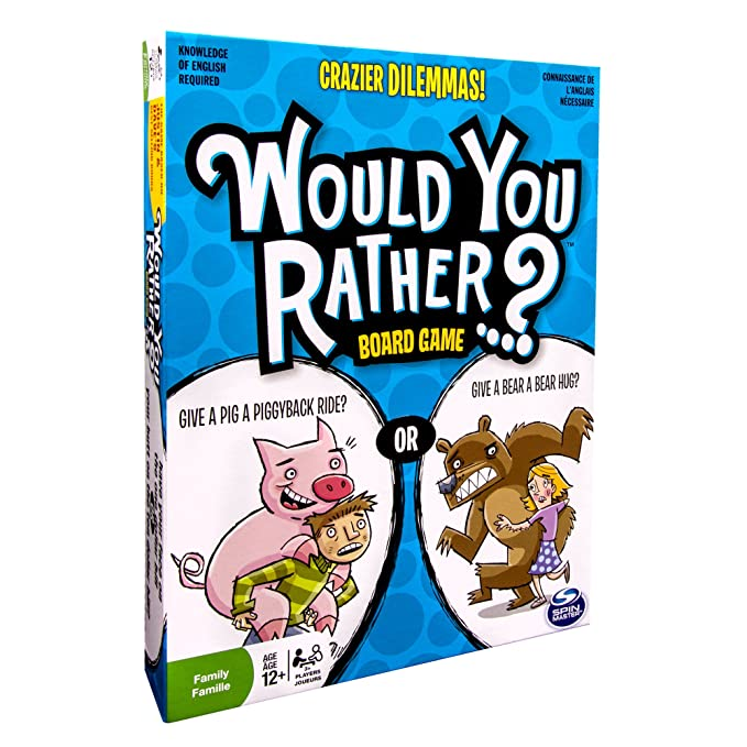 Would you rather dilemmas