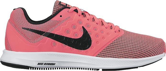 Zapatillas para mujer de Nike Downshifter 7, (negro/blanco (Hot ...
