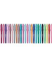 AmazonBasics Felt Tip Marker Pens - Assorted Color, 24-Pack