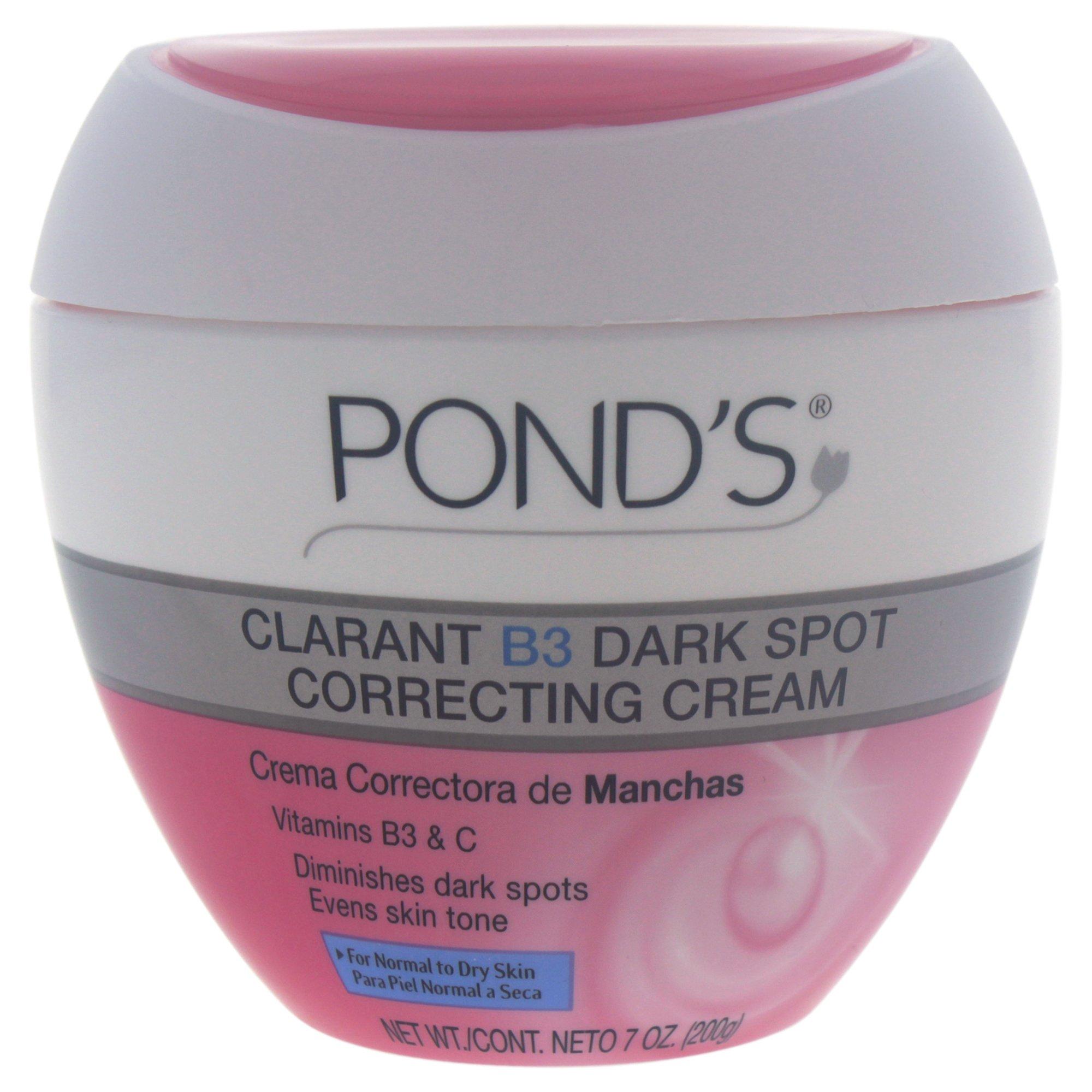 Pond's Correcting Cream, Clarant B3 Dark Spot Normal to Dry Skin 7 oz, Pack of 2