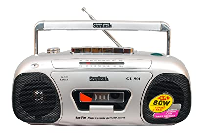 Santosh Tape Recorder With In Built Fm Radio Player  Gl 901  MP3/MP4 Players