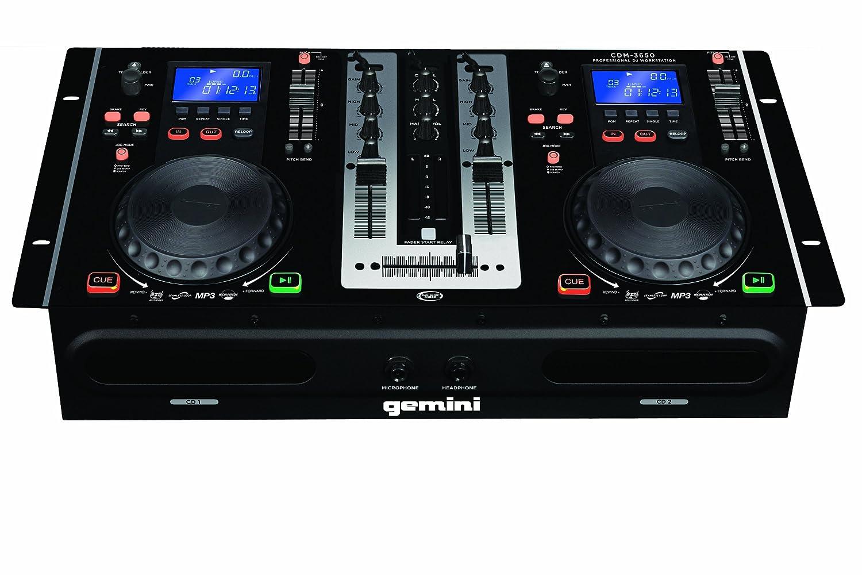 Gemini CDM-3650 Dual CD Mixing Console: Amazon.co.uk: Musical Instruments