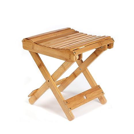 eco friendly multifunction seating. ETECHMART 12\u0026quot; Eco-friendly Bamboo Folding Stool For Leg Shaving Shower Eco Friendly Multifunction Seating A