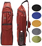 #DoYourYoga Yoga Mat Bag »Indra« from made of waterresistant materials - carry kit/shoulder/backpack (multifunctional storage like towel, wallet .) pilates fitness & aerobics mats