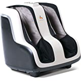 """Sol"" Foot and Calf Shiatsu Massager with Patented Figure-8 Technology, Heat, Vibration, and Intensity Setting"