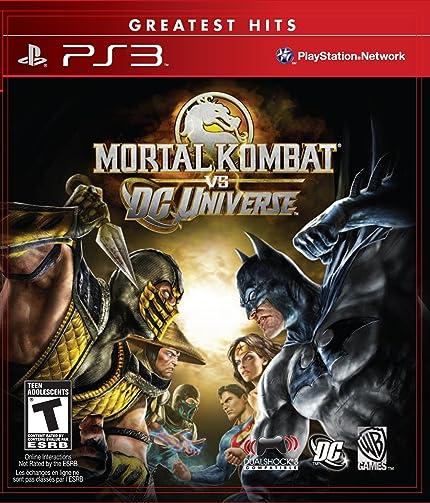 aece9964501a5 Amazon.com: Mortal Kombat vs. DC Universe - Playstation 3: Artist ...