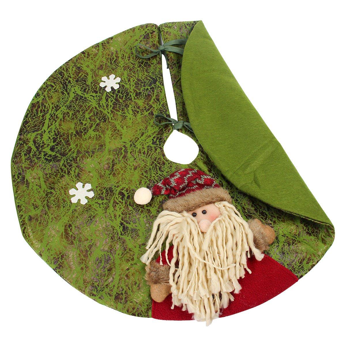 kitchnexus Árbol de Navidad falda Stands de Navidad Papá Noel ...