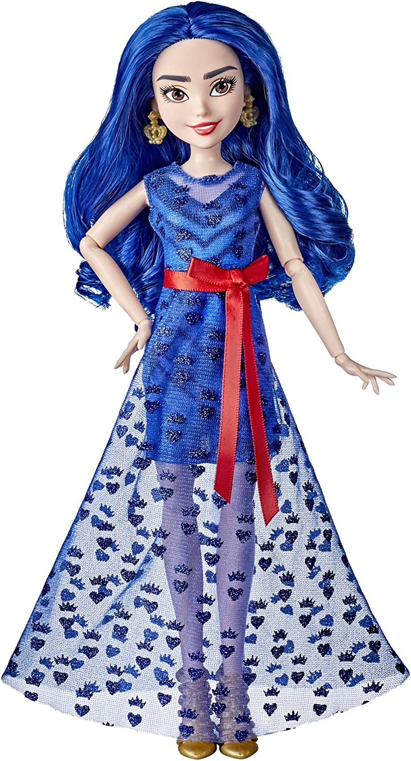 Disney Descendants Evie Doll, Inspired by Disney The Royal Wedding: A Descendants Story, Toy Includes Dress, Shoes, and Earrings