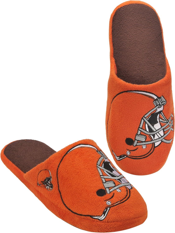 Cleveland Browns 2011 Big Logo Men Slipper Tpr Sole Large