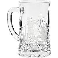 Crystaljulia 05955 Jarra de cerveza, 500 milliliters, Cristal