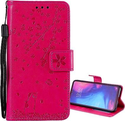 Flip Cover Custodia Magnetica per Xiaomi Redmi Note 8T Pelle Portafoglio a Libro