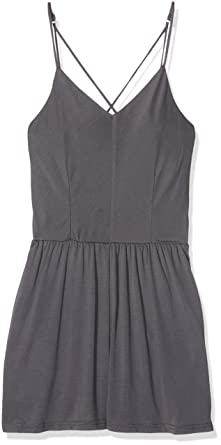 New Look 915 Girls 5002297 Dress, (Dark Grey), 14-15 Years