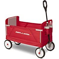 Radio Flyer 3-in-1 EZ Fold Wagon Ride On (Red)