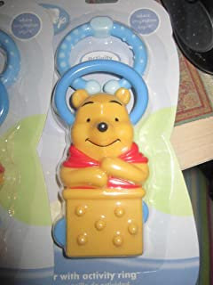 Amazon.com : Disney Winnie Pooh Keychain Teether : Baby