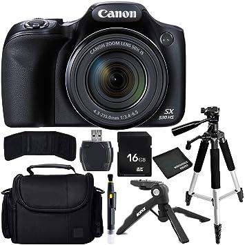 Canon Bundle cámara PowerShot SX530 SA Digital con Estuche de ...