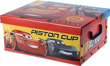 Gerimport Caja de cartón Cars 3 (Medidas:31x37x16cm): Amazon.es: Hogar