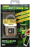 WAKI デジタルログロック サテンシルバー NFC GT2000