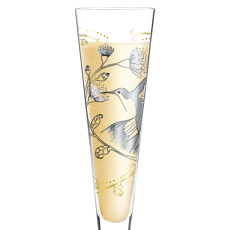 Multicolore Ritzenhoff 1070231/Champagne Fl/ûte /à Champagne en Verre 7/x 7/x 24/cm