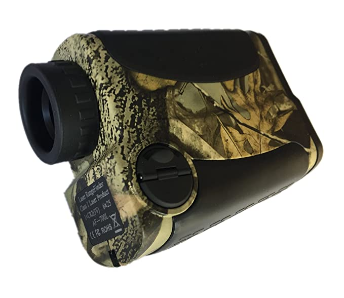 Ade Advanced Optics Golf Rangefinder Hunting Range Finder with PinSeeker Laser Binoculars, Camouflage