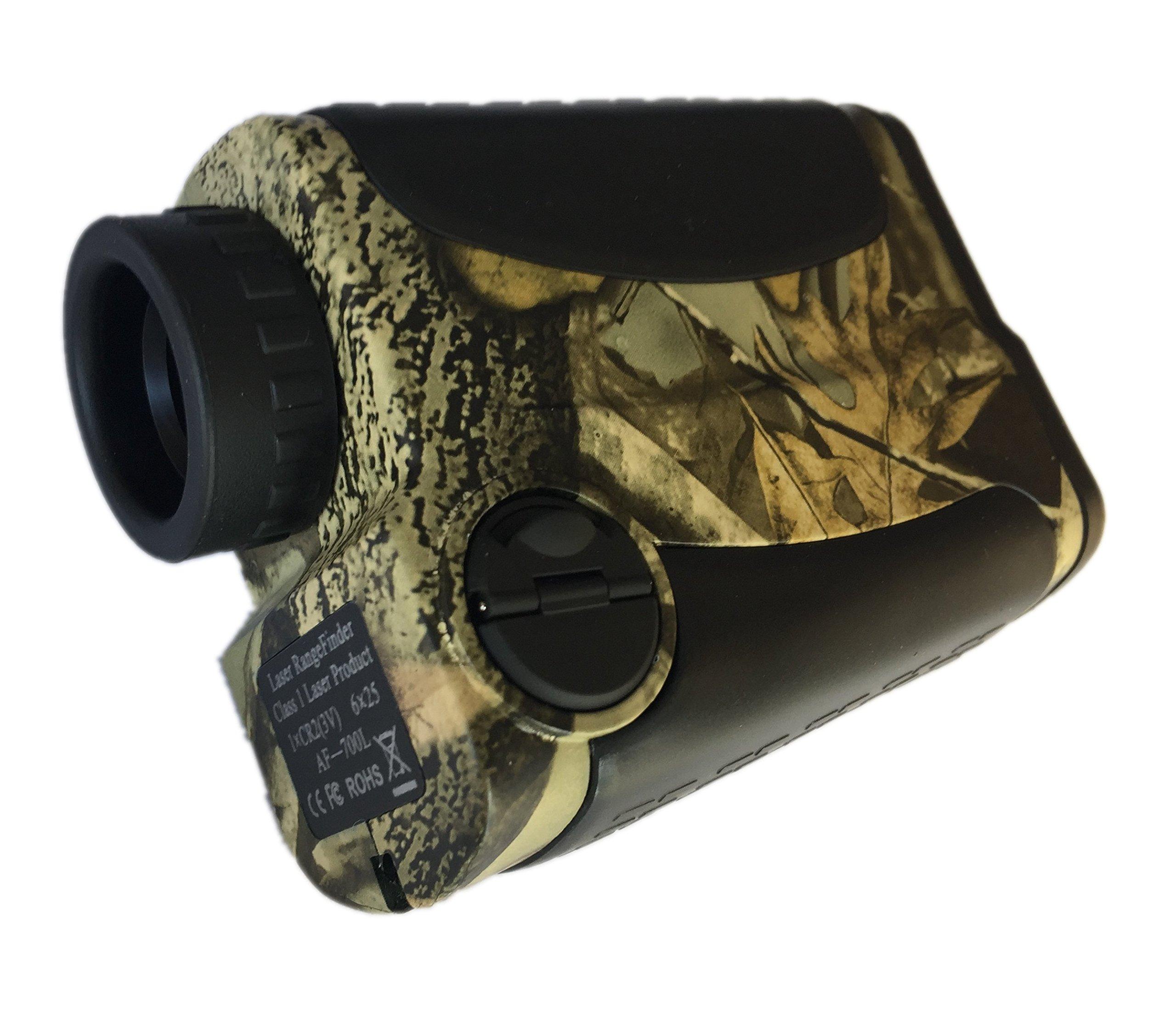 Ade Advanced Optics Golf Rangefinder Hunting Range Finder with PinSeeker Laser Binoculars, Camouflage by Ade Advanced Optics (Image #1)