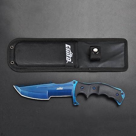 Amazon.com: Cuchillo de cazador CIMA, multicolor, de hoja ...