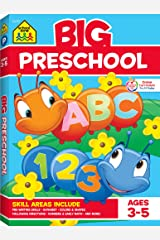 School Zone - Big Preschool Workbook - Ages 4 and Up, Colors, Shapes, Numbers 1-10, Alphabet, Pre-Writing, Pre-Reading, Phonics, and More (School Zone Big Workbook Series) Paperback