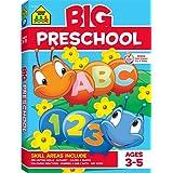 Big Preschool Workbook: Ages 3-5